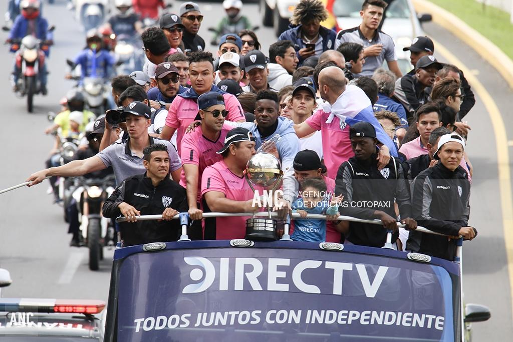 Independiente del Valle llegó a Ecuador