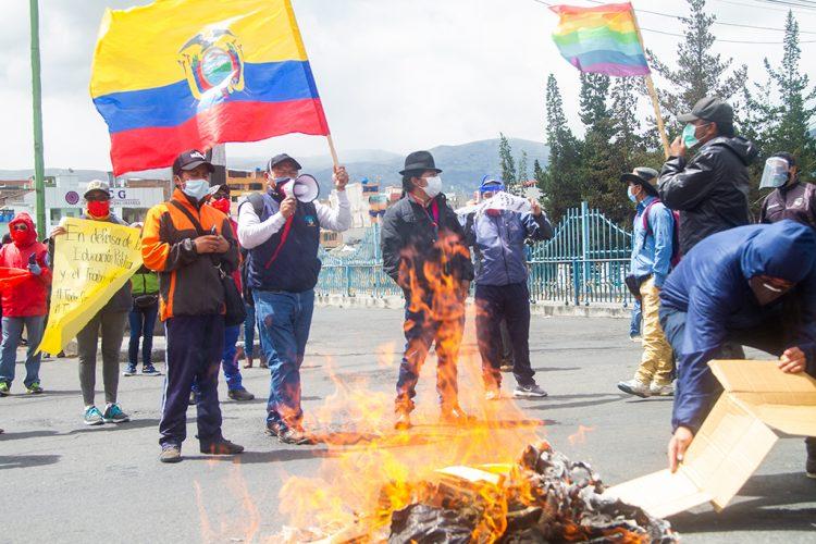 JORNADA DE PROTESTAS EN RECHAZO A MEDIDAS ECONÓMICAS