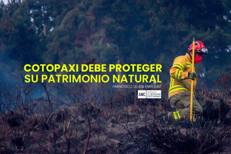 COTOPAXI DEBE PROTEGER SU PATRIMONIO NATURAL