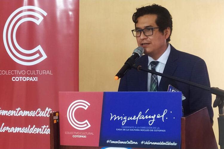 Colectivo Cultural Cotopaxi, presentó candidatura